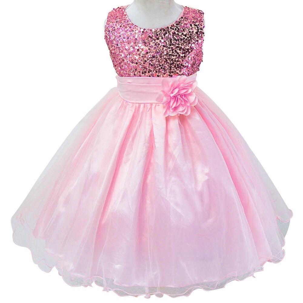 √2018 nuevo vestido de las flores para Niñas para la boda y el ...