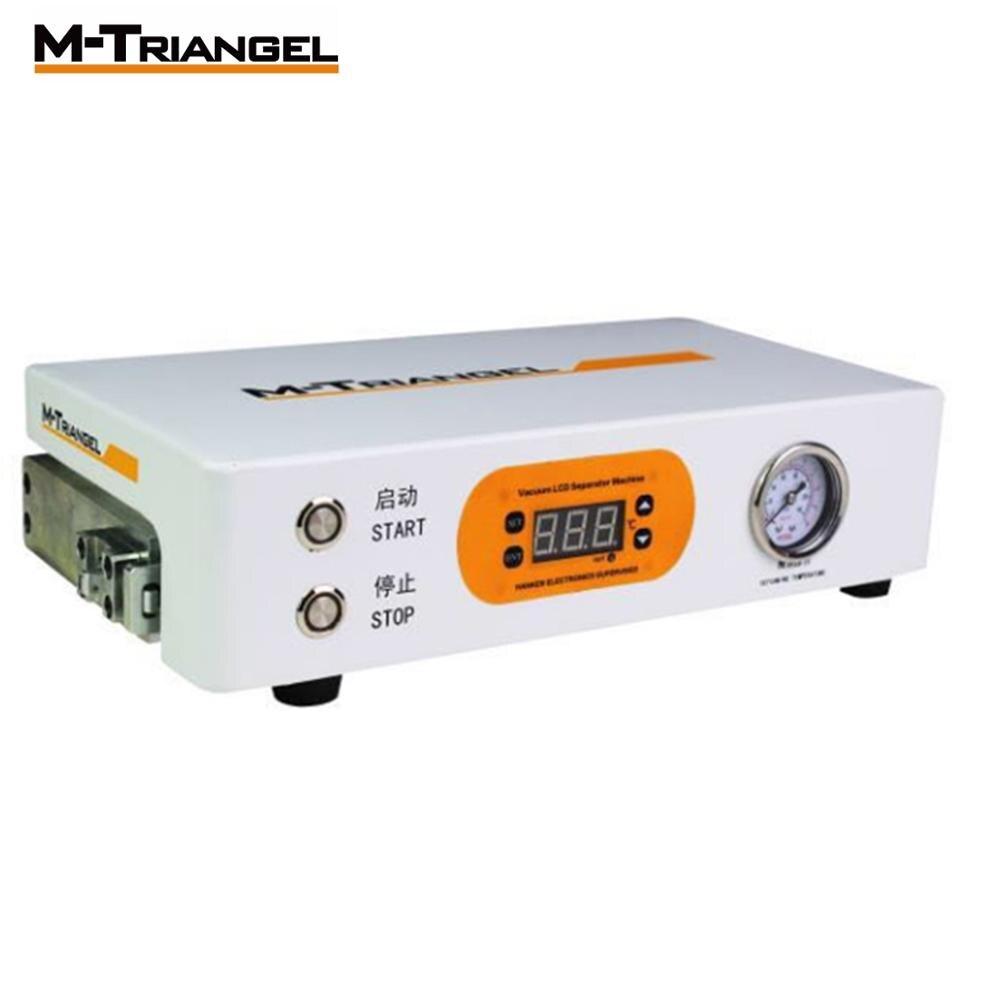 Pantalla Plana LCD removedor de burbujas máquina de alta presión LCD reacondicionamiento 220 V/110 V 7 pulgadas pantalla necesita bomba externa m triangel M1