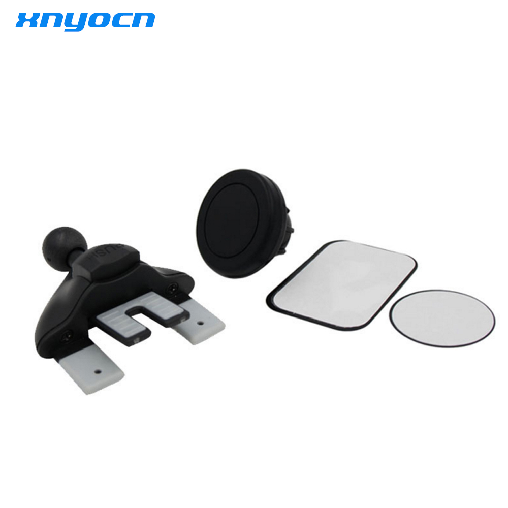 Universal Magnetic Car Mobile Phone Holder Outlet CD Slot Mount Stand For iphone 5s meizu m3 note lenovo xiaomi redmi note 3 pro