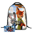 Zootopia Children Backpacks Cute Animal FOX Kids School Bags for Girls Boys Satchel 16 Inch Book Bag Mochilas Escolares Infantis