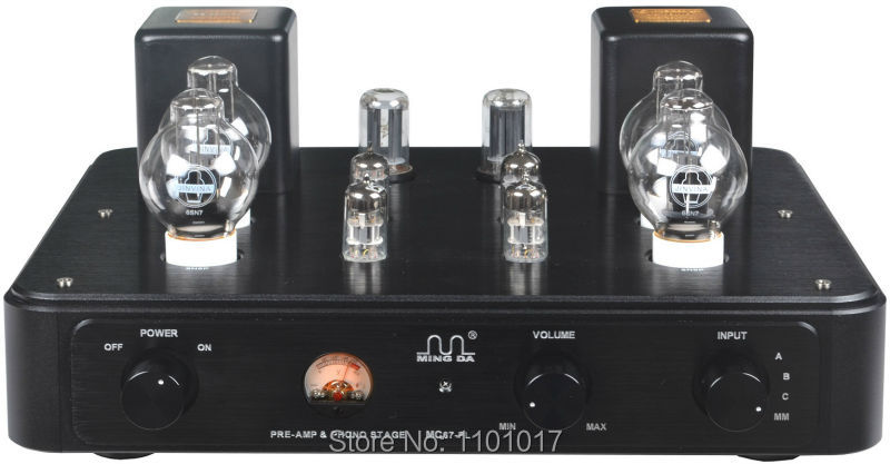 Meixing MingDa MC67-PL Pre-amplifier with phono MM stage pre-amp function HIFI EXQUIS original MC7R-II classic circuit preamp