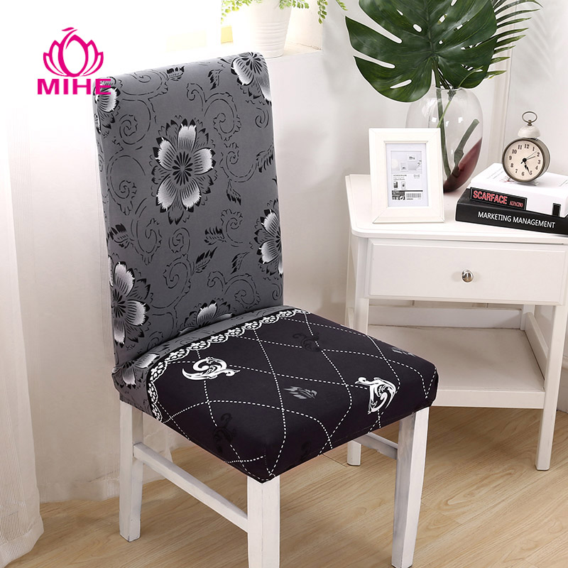 Chair Covers Modern Garden Lounger Removable Cover Stretch Dining Seat Spandex Elastic Wedding Banquet Europe Pastoral Print Yzt03 My Sweet Home