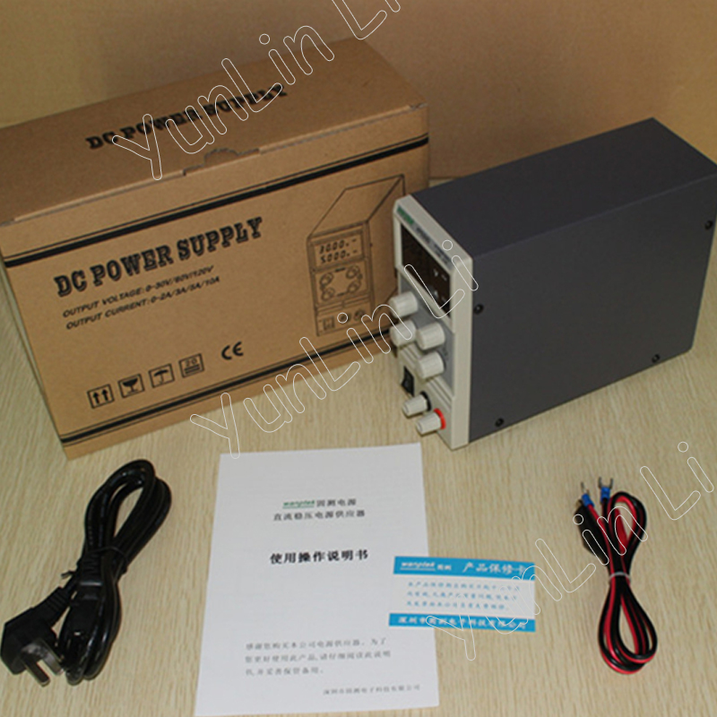 DC Power Supply 60V 5A Single Channel Adjustable SMPS Digital 0.1V 0.01A Mini Switching KPS605DDC Power Supply 60V 5A Single Channel Adjustable SMPS Digital 0.1V 0.01A Mini Switching KPS605D