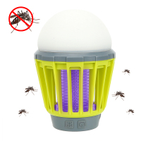 USB Charging Night Light Mosquito Killer Lamp Portable Lighting Zapper Pest Repeller Lanterns for Camping Tent Light