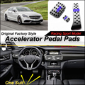 Litanglee Auto Accelerator Pedal Pad/Abdeckung von Sport Racing Design Für Mercedes Benz CLS MB W218 C218 ZU Fuß pedal Gaspedal|car leather cover|car seat belt covercar covers for classic cars -