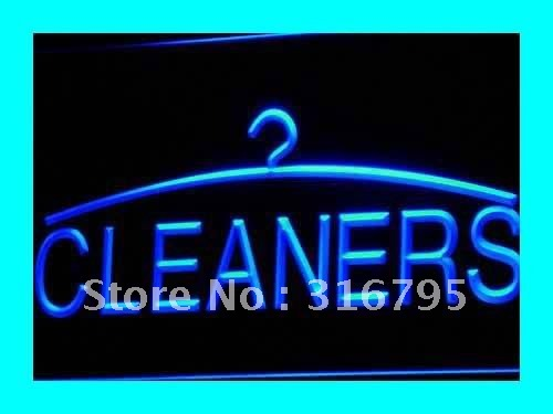i390 Cleaners Dry Cleaning Laundromat LED Neon Light sign On/Off Swtich 20+ Colors 5 Sizes