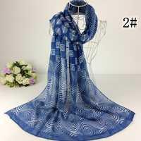 抽象幾何プリントスカーフ2014春女性ショールecharpe 100%ビスコースデザイナースカーフイスラム教徒ショールmusimヒジャーブ