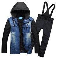 High Quality Snowboard Jackets Waterproof Ski Suit Sets Men Chaqueta Hombre Veste Men S Ski Clothing
