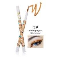 Beauty Cosmetic Tool Rotary Design Highlighter Eyeshadow Pencil Cosmetic Glitter Eye Shadow Pen Eyeshadow