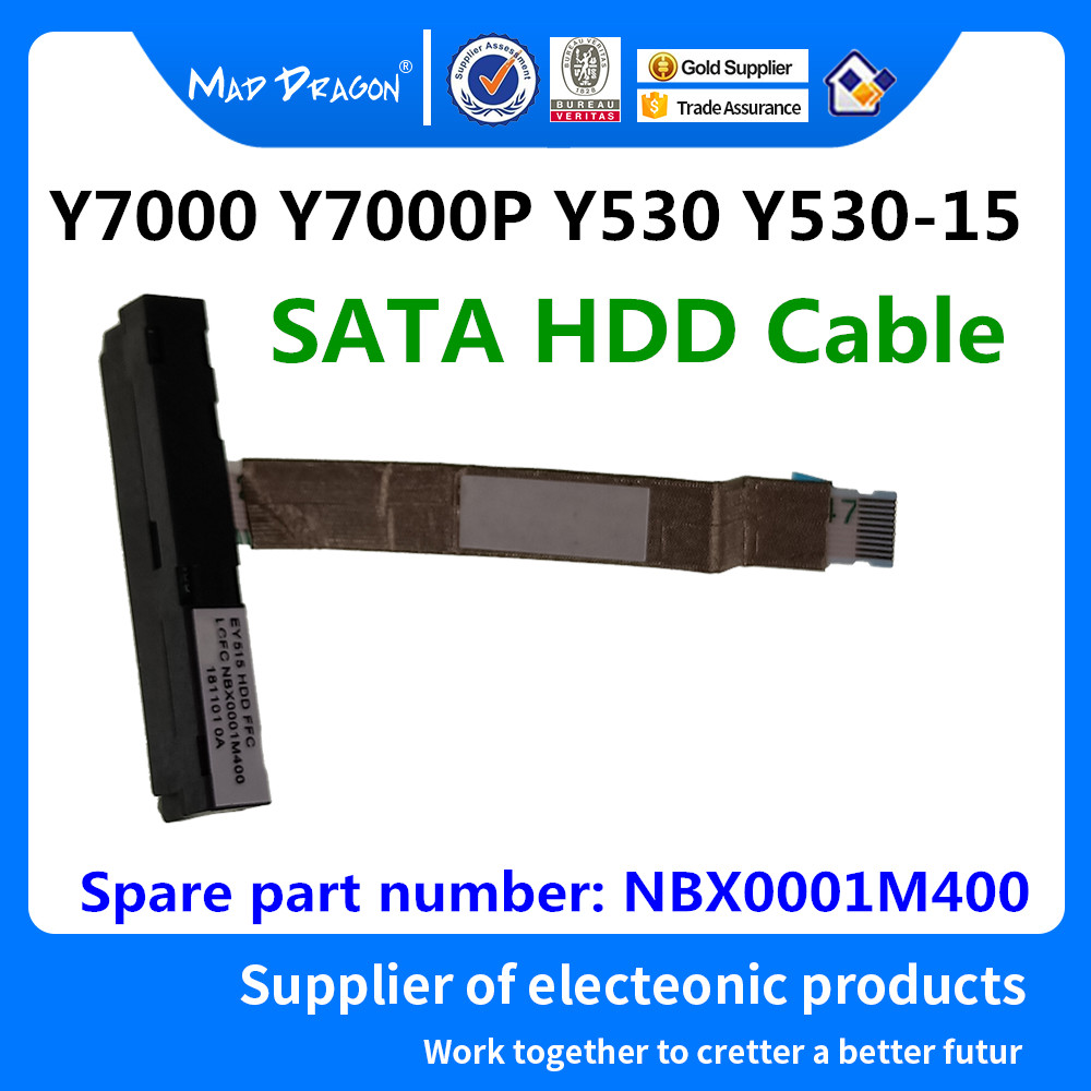 NEW SATA SSD HDD Cable Hard Drive Disk Cable For Lenovo Legion Y530 Y530P Y7000 Y7000P EY515 NBX0001M400 NBX0001M410 5C10R40220