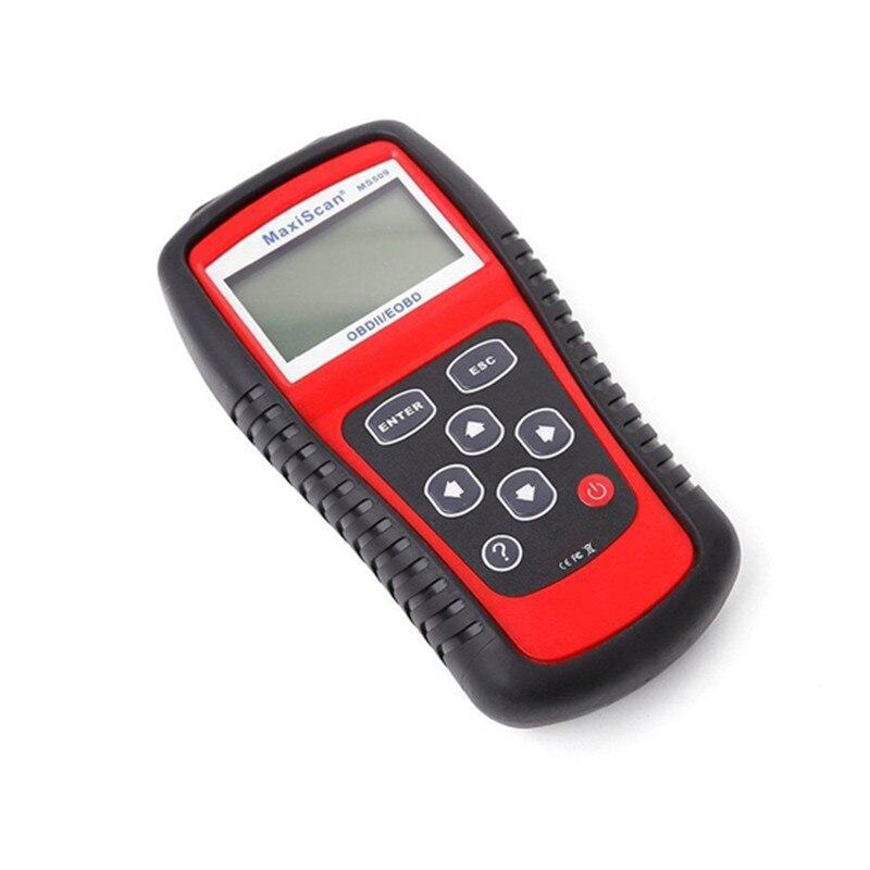 Image 4 - 5 шт./лот MS509 OBDII/EOBD OBD2 автоматический считыватель кодов работает для США и Азии и Европы Автомобильный сканер Поддержка Многоязычная Лучшая цена on