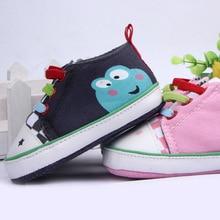 Детская обувь новые мальчики девочки малыш обувь дети холст обувь мультфильм случайный prewalker обувь дети впервые уокер