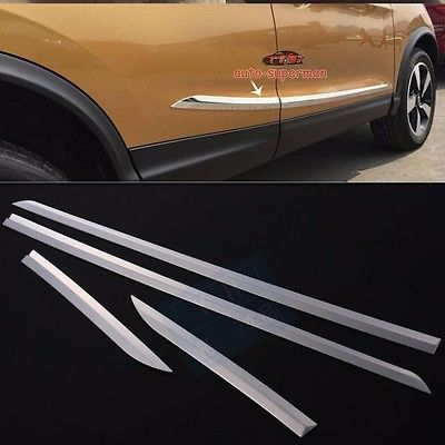 304 S.Steel Side Door Molding Trim Chrome For Nissan Qashqai 2014 2015 2016 2017