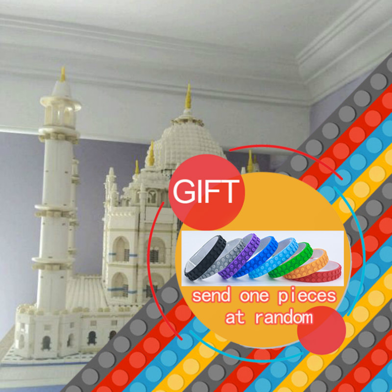New bricks  17001 City Street Creator The Tai Mahal Model Building Kits  Assembling   Compatible 10189   toys lepin lepin17001 city street tai mahal model building blocks kids brick toys children christmas gift compatible 10189 educational toys