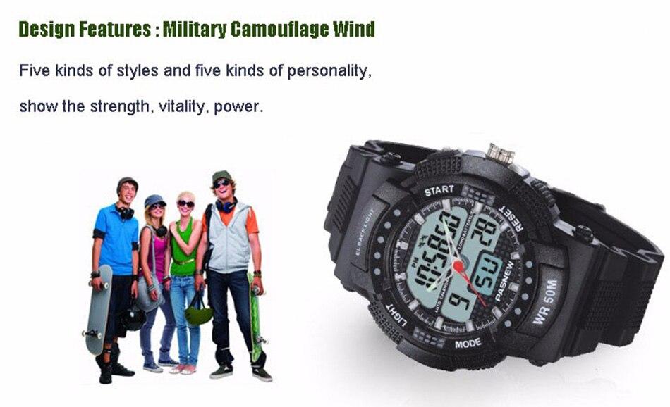 361 - detail - 2018 Free Shipping Fashion Men Watch Waterproof Sport Men Wristwatch S Quartz Digital Boy Clock Relogio Masculino (9)