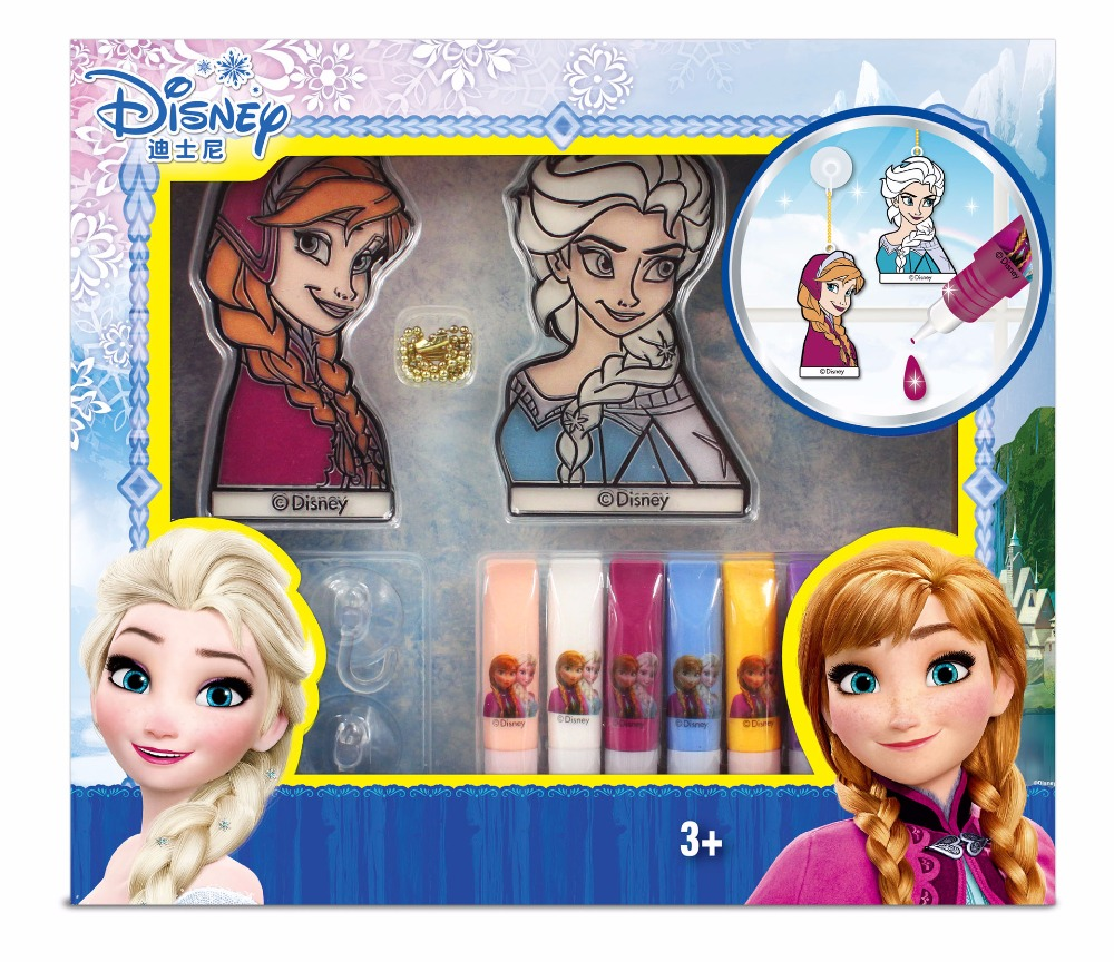 Toys & Hobbies 2019 New Disney Painting Toys Free Iron Painting Set Princess Girl Boys Puppy Diy Puzzle Handmade Toys