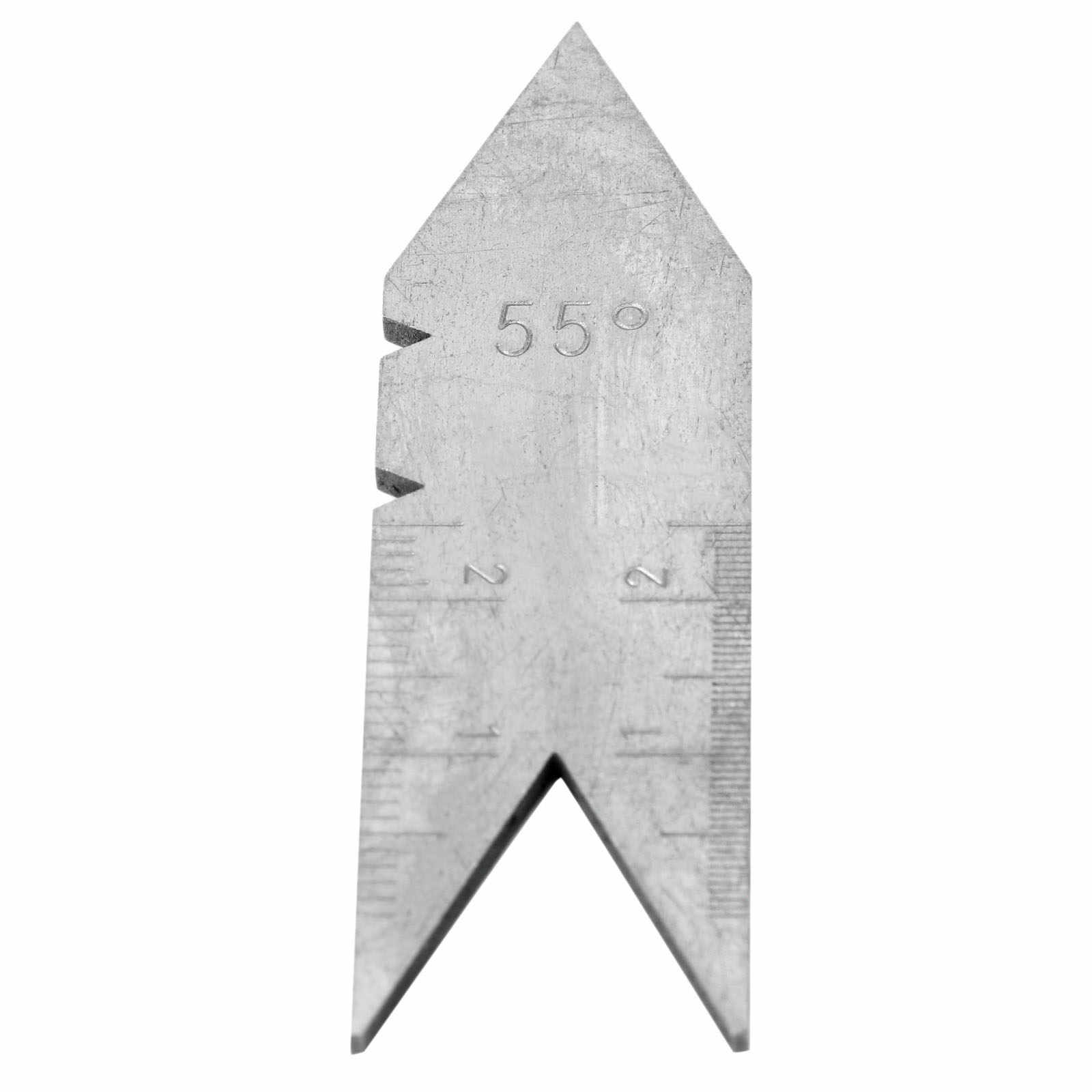 Wyeth 55Degree Centering Gauge Thread Screw Cutting Stainless Angle Measure Tool