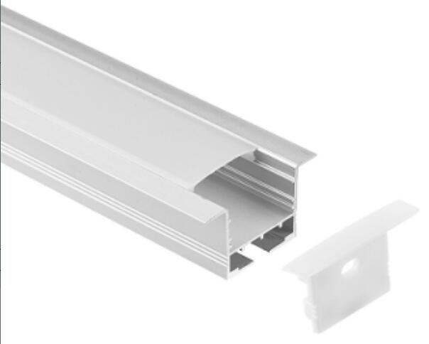 Free Shipping new design led profiles recessed linear light aluminium extrusion channel for plaster ceilings 2m/pcs 40m/lot free shipping 5 pcs lot si4463 b1b fmr si4463 44631b qfn48 new in stock ic