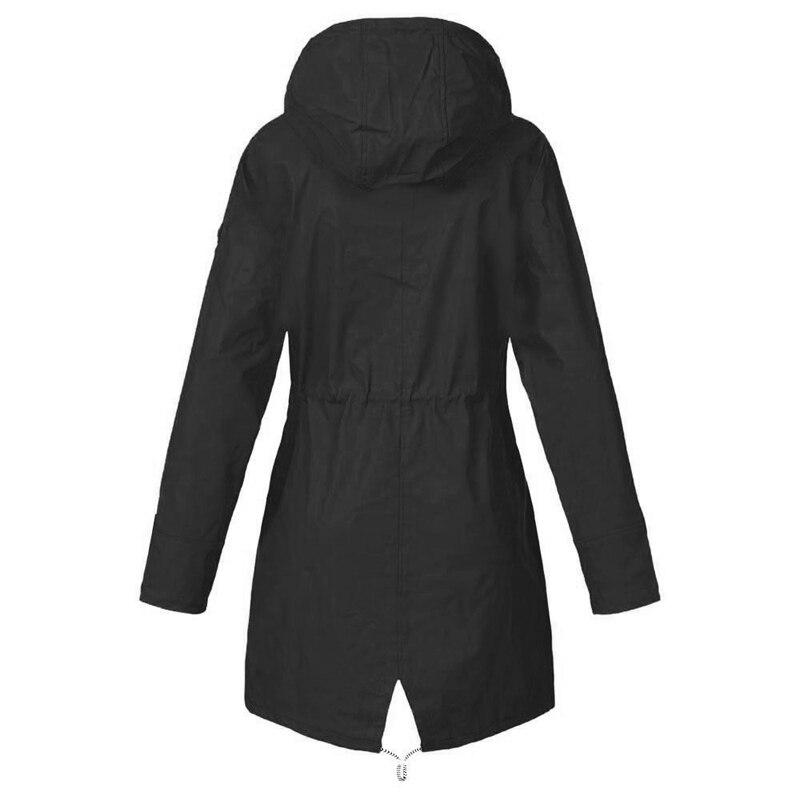 HTB1J.OrXUz1gK0jSZLeq6z9kVXaA LASPERAL 2019 Women Jacket Coat Waterproof  Transition Jacket Outdoor Hiking Clothes Lightweight Raincoat Women's Raincoat