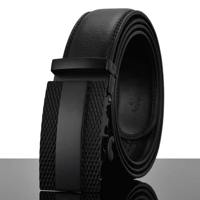 Automatic Buckle Leather luxury Belt