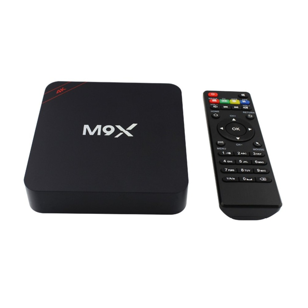 4K Quad Core Smart TV Box Large Memory Size 1+8GB WIFI Media Player for Android for Home Entertainment