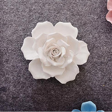 Wall sticker rose hanging, creative home office restaurant wall decoration, beautiful flowers