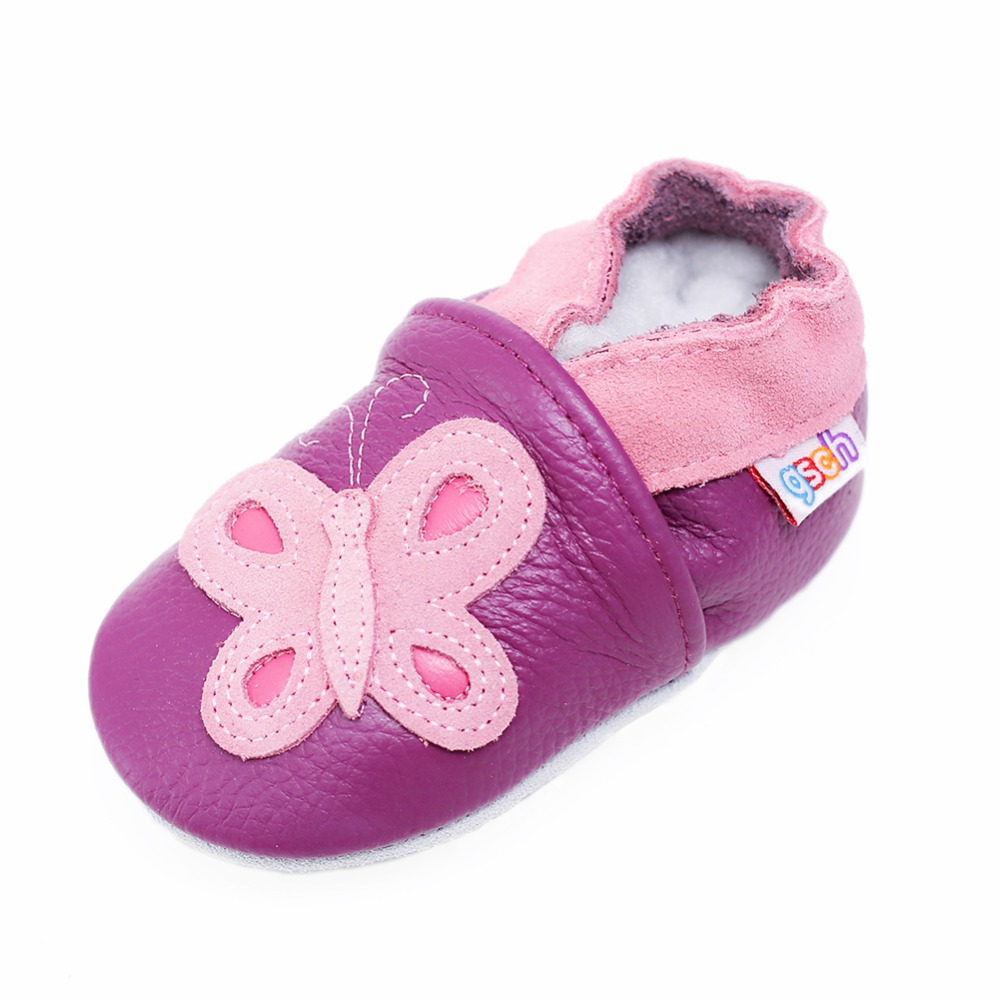 Gsch Chausson Bebe Cuir Souple Moccasins Soft Leather Cow Sole Baby Suede Slipper Soles Toddler Shoes With Suede Soles Moccasins