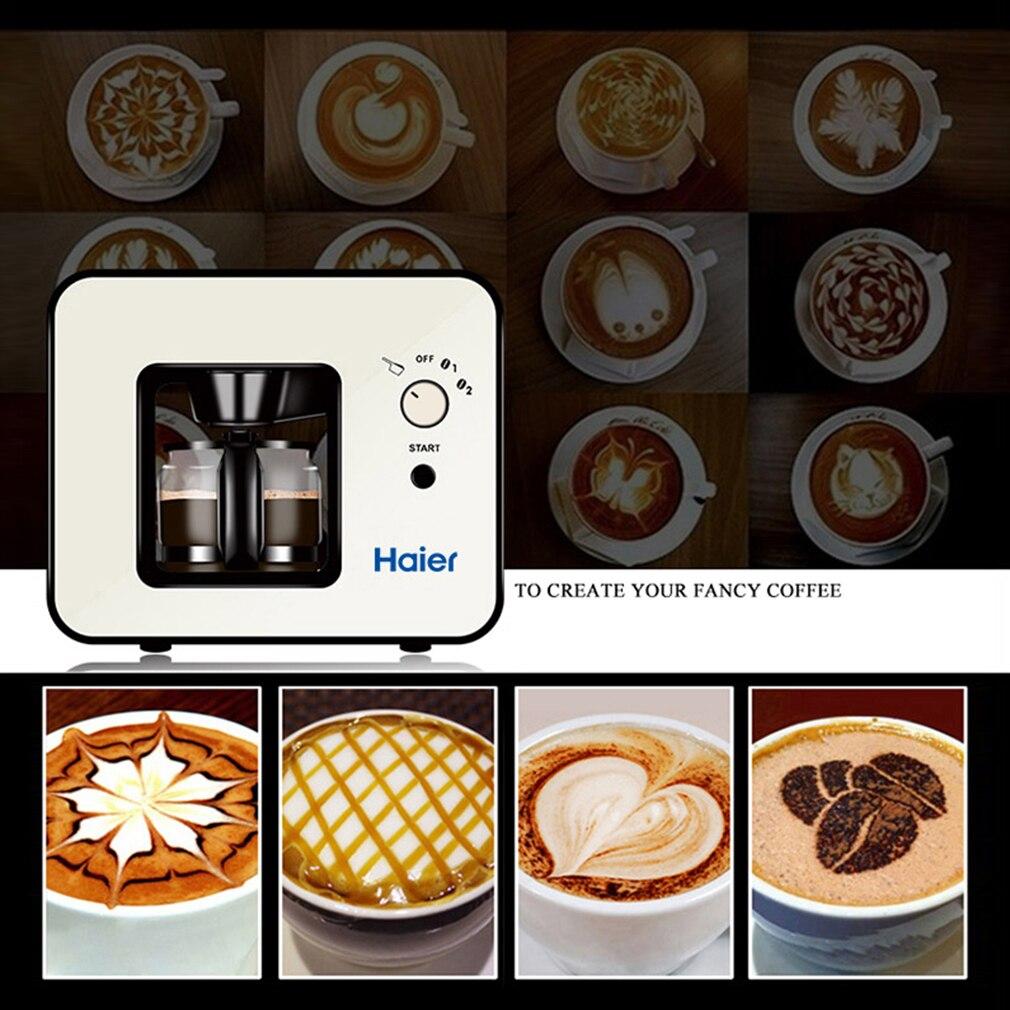 SKL W003 Design moderne 4 tasses cafetière électrique protection contre la surchauffe Cappucina Mocca cafetière Machine - 2