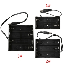 DIY 2x 3x 4x 18650 Battery Holder Storage Box Case With DC 5.5x2.1mm power Plug 1xusb charger 1x 2x 3x 4x 630mah battery for parrot minidrones mambo swing best price