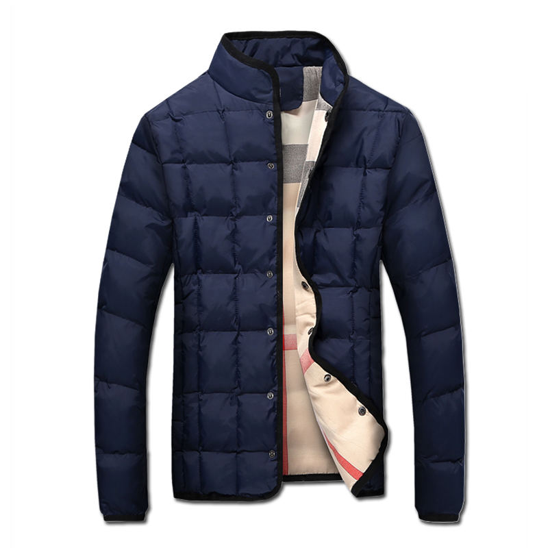 2016 Men Winter Padded Jackets and Coats Jaqueta Masculina Men's Casual Fashion Slim Fit Large Size Veste Hombre Jackets Hombre