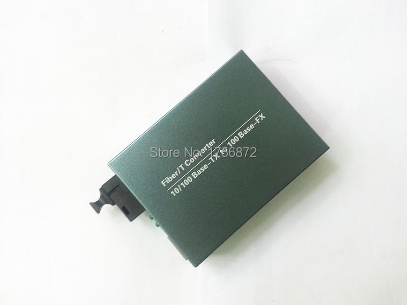 10 / 100M Transceptor óptico de conversor de mídia de fibra de - Equipamento de comunicação - Foto 3