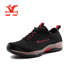 2017 XiangGuan men's sport hiking shoes spring and summer mesh Breathable athletic DMX outdoor sneakers size 39-45