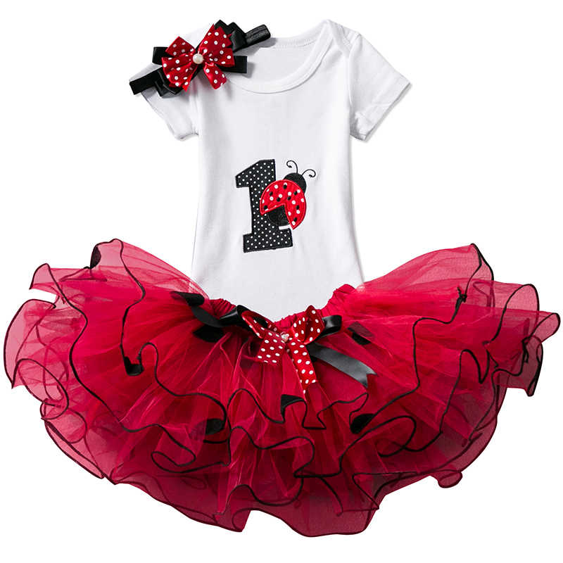 ec67ecf2bd29d Detail Feedback Questions about 1 Year Baby Girl Birthday Dress Kids ...