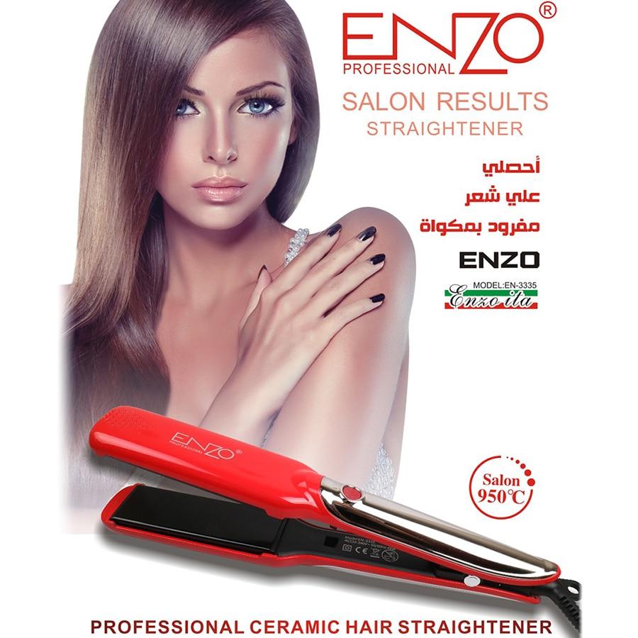 ENZO Ceramic Hair Straightener 1.5 Inch LCD Display Professional Hair Styling Straightener Iron Salon Styling ToolsENZO Ceramic Hair Straightener 1.5 Inch LCD Display Professional Hair Styling Straightener Iron Salon Styling Tools