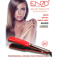 ENZO Ceramic Hair Straightener 1.5 Inch LCD Display Professi