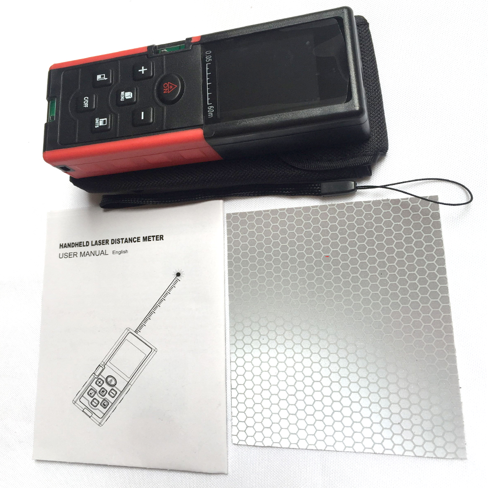 lézer távolságmérő 40M 60M 80M 100M távolságmérő lézer - Mérőműszerek - Fénykép 4