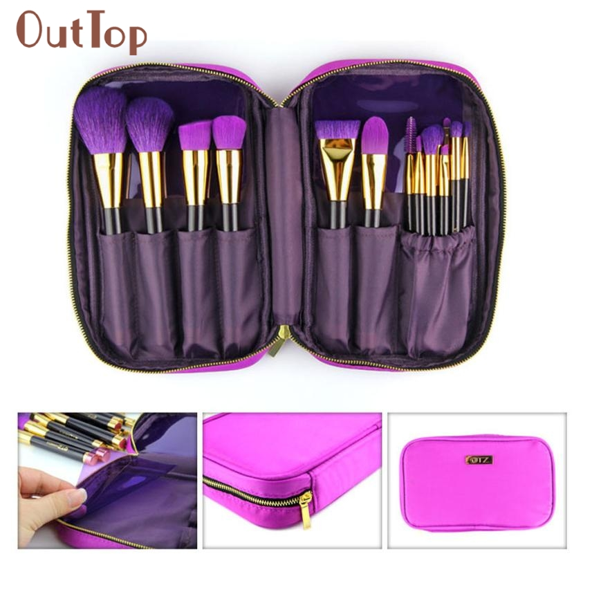 ФОТО Hot Professional Beauty Girl 15PCS Cosmetic Makeup Brush Brushes Set Foundation Powder Eyeshadow  DE31X18
