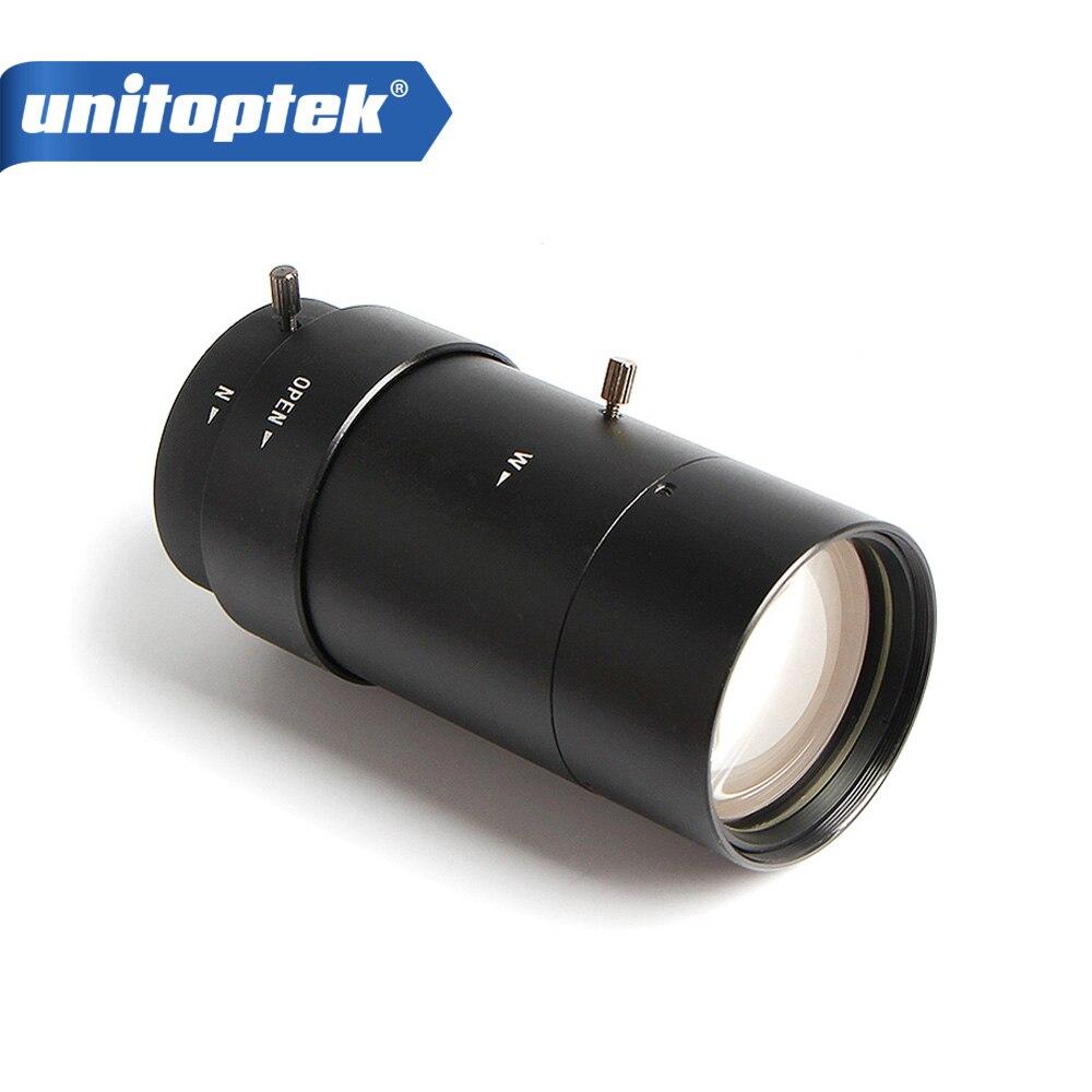 F1.8 CS Objectif CCTV/Manuel Vari-Focal 5-100mm/Caméra Lentille/Lentilles/Conseil montage/Manuel Iris Objectif Pour Analogique/720 p IP Caméra