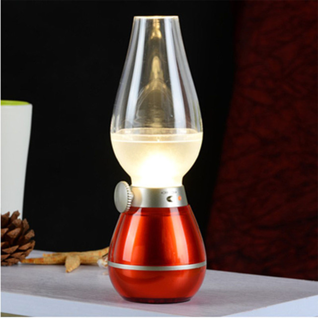 baby room Retro motion sensor light LED Night Light kerosene lamp Englon Metal night led light edison bulb light fixture