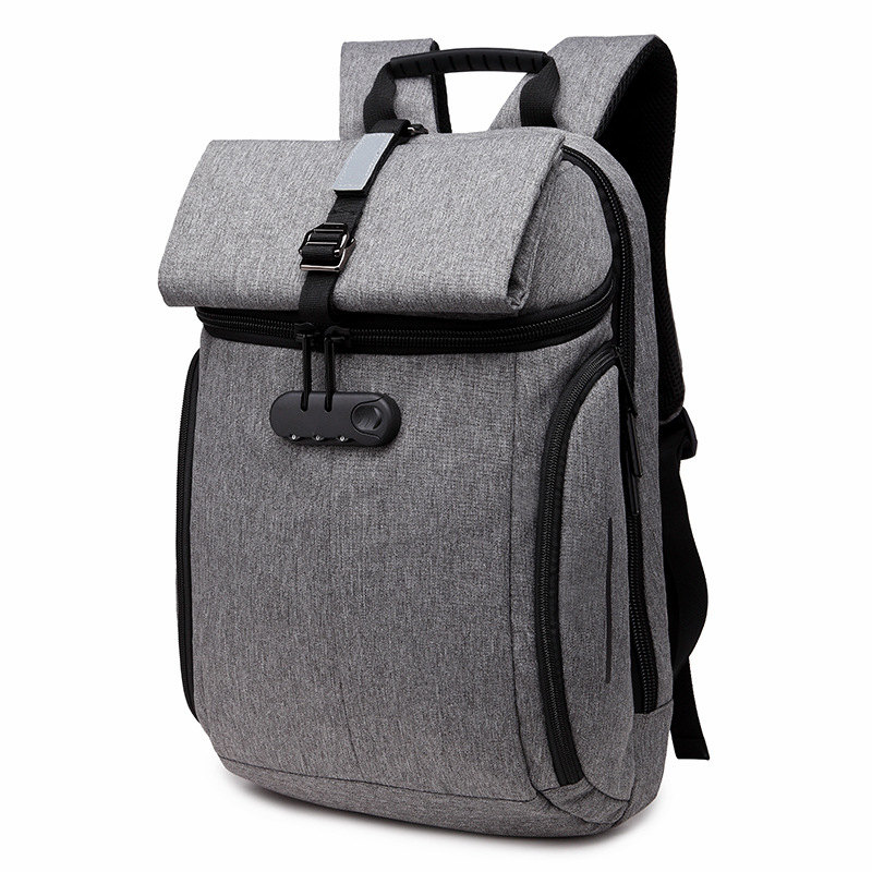 Oxford laptop backpack bag 15 6 inch male creative designer fashion double shoulder Notebook bag leisure
