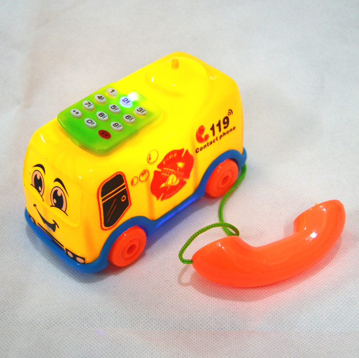 1Pc baby toys music cartoon phone educational developmental kids toy giftSG