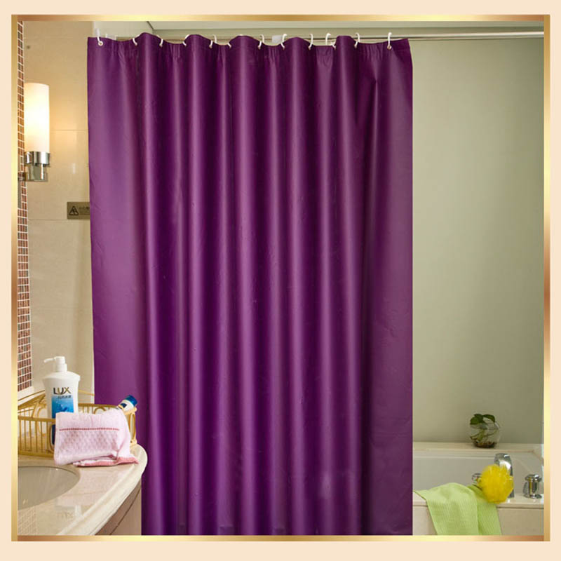 mildewproof shower curtain thicken opaque polyester shower curtain