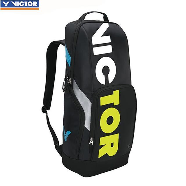 28ef25ffb3e original Victor Badminton Bag tennis bag Sport Brand Racquet bag outdoor  Sports Backpack BR8018