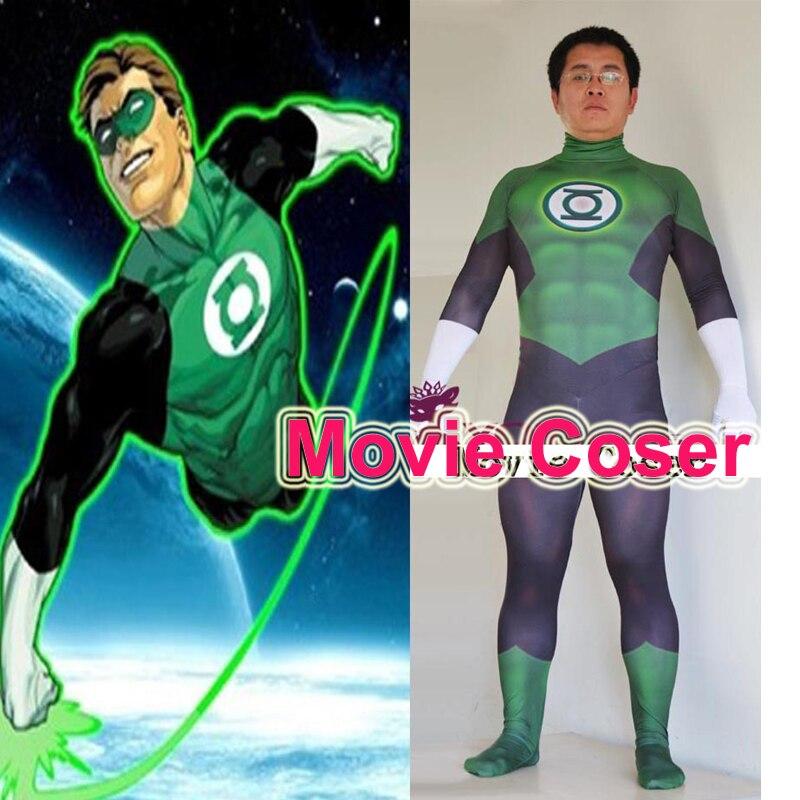Popular Green Lantern Cosplay Costume-Buy Cheap Green ...