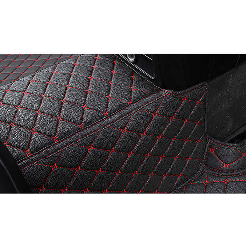 KADULEE coche personalizado piso pie estera para bmw f10 x5 e70 e53 x4 f11 x3 e83 x1 f48 e90 x6 e71 f34 e70 e30 impermeable Auto Accesorios