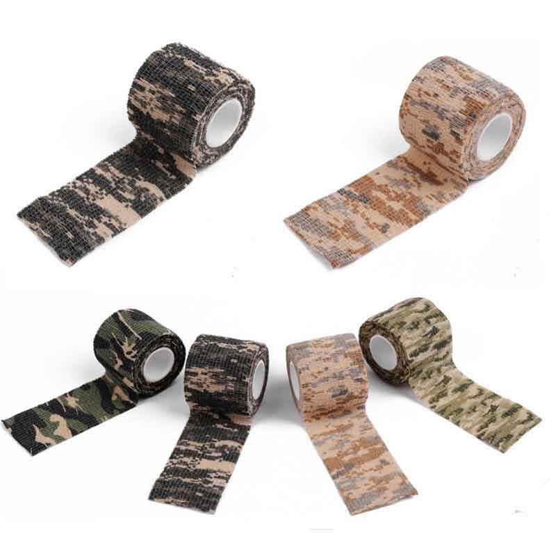 Bandazh vetë-ngjitës Camo Stretch Bandage 5CM * 4.5M Kasetë - Veshje sportive dhe aksesorë sportive - Foto 5