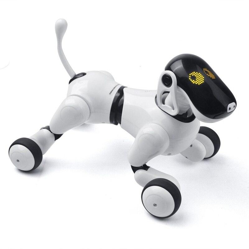 Electrónica para perros mascotas Control remoto inteligente robot electrónico inalámbrico Robot parlante inteligente perro juguetes para niños Año Nuevo regalos de navidad - 6