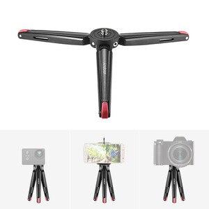 Image 2 - Andoer Mini Tripod Cầm Tay Du Lịch Máy Tính Để Bàn Chủ Máy Ảnh Đứng Hợp Kim Nhôm cho Canon Nikon Sony DSLR đối với iPhone X Điện Thoại Thông Minh