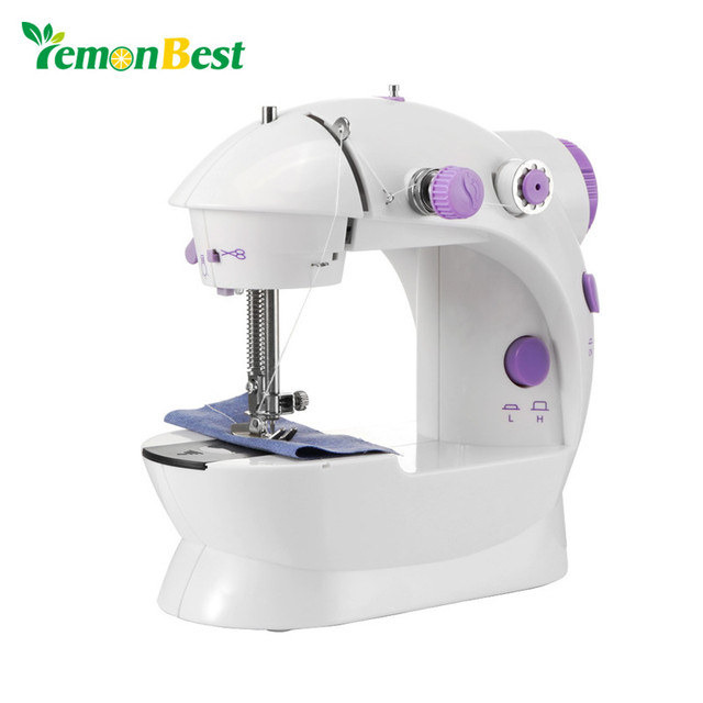 LemonBest Electric Sewing Machine 40 Speed Tailor Small House Sewing Best Electric Sewing Machine