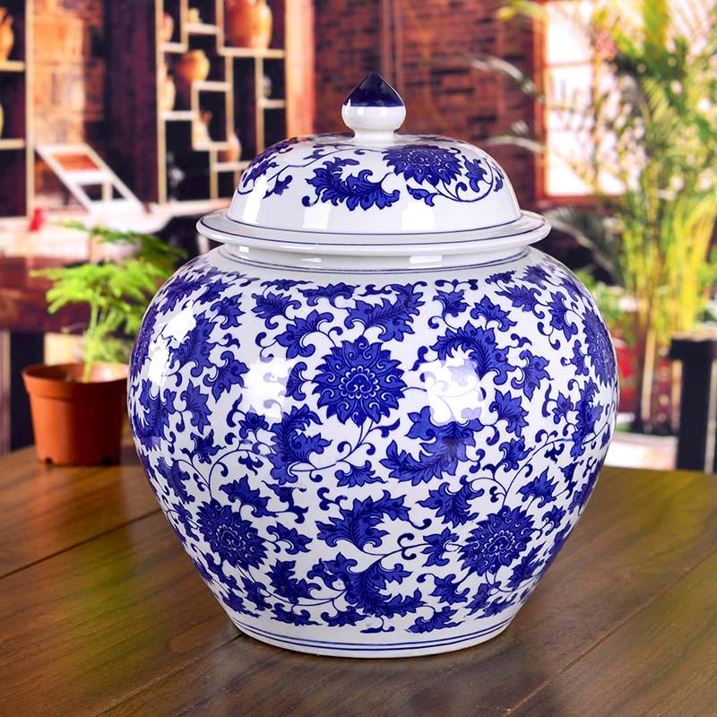 jingdezhen ceramic ginger jars antique porcelain temple jars ceramic chinese ginger jarchina mainland - Ginger Jars